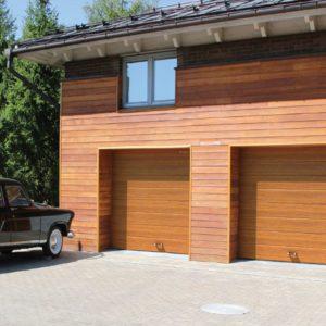 Секционные ворота гаражные 3000х2500